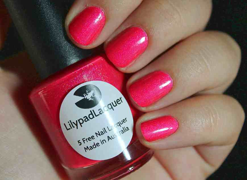 Didichoups - Lilypad Lacquer - Pink Flamingo 04